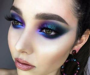 beauty, girls, and makeupgoals image