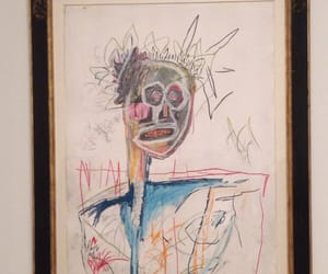 art, pretty, and basquiat image