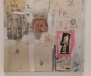 art, basquiat, and vintage image