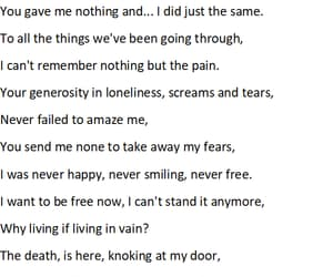 All Alone, free, and poem image