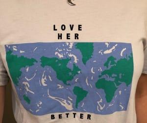 earth, tshirt, and fashion image