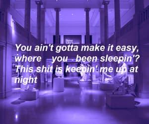 aesthetic, Lyrics, and neon image