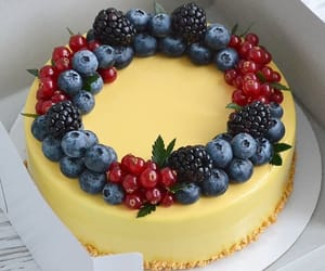 blackberry, white chocolate, and blueberry image