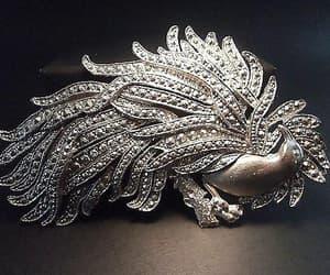 Art Nouveau, bird jewelry, and renaissance fair image