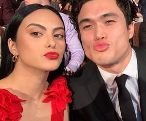 couple, camila mendes, and riverdale image