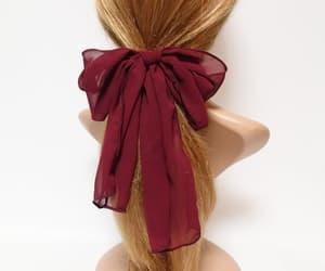 etsy, veryshine, and women hair bow image
