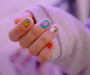 nails and beautiful style image