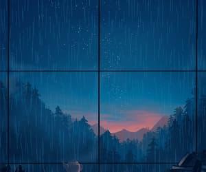 gif, مطر, and rain image