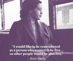 rosa parks, women rock, and to be free image