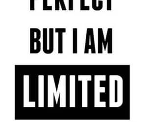 limited edition, i am not perfect, and broke the mold image
