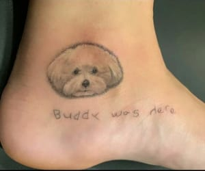 demi, tattoo, and buddy image