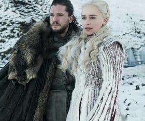 got, daenerys targaryen, and kit harington image