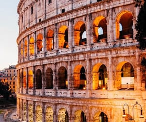 architecture, colorful, and colosseum image