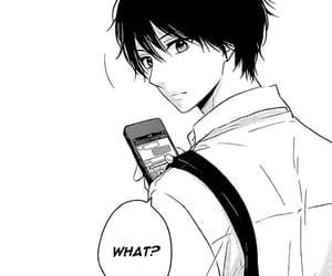 black&white, monochrome, and manga image