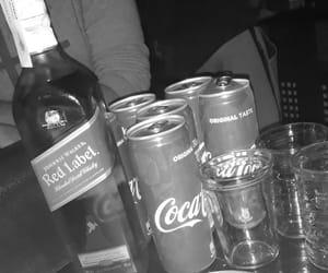 alcohol, club, and coca cola image