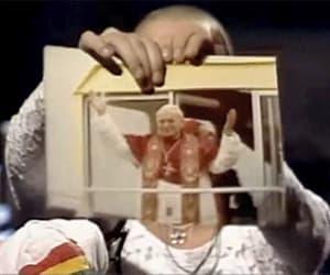 gif, pope, and Sagittarius image