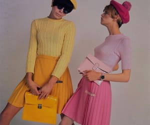 1960s, aesthetic, and pink image