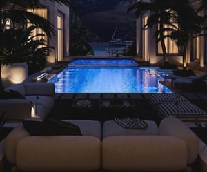 home, pool, and luxury image