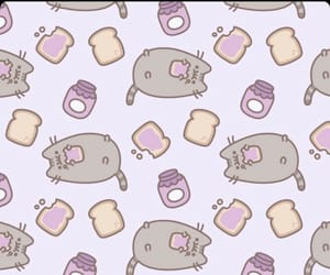 pusheen and pusheen cat image