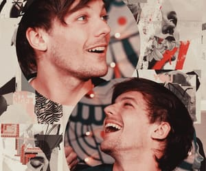 Collage, louis, and smile image
