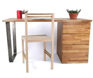 writing desk, woodentable, and office desk image