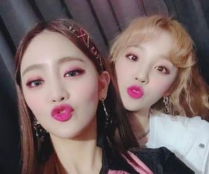 k-pop, 아이들, and minnie image
