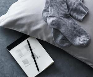 college, grey, and socks image