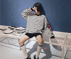 clothes, outfits, and girl image