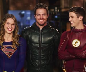 arrow, the flash, and smile image