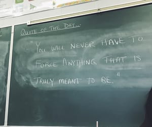 chalkboard, quotes, and written image