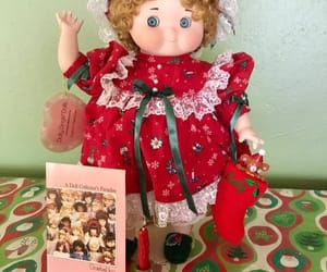 etsy, christmas doll, and limited edition doll image