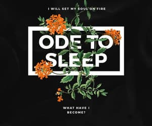 twenty one pilots, ode to sleep, and Lyrics image