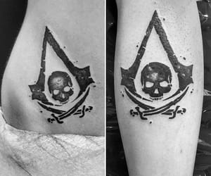 assassins, black, and creed image
