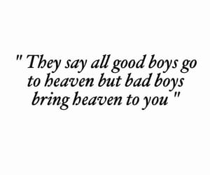 bad, boys, and heaven image