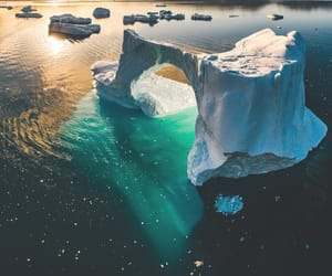 greenland and nature image