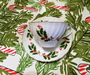 etsy, tea cup and saucer, and akitschisjustakitsch image