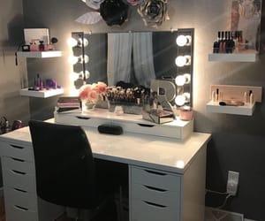 lights, perfume, and makeup image