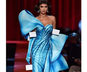 blue, models, and Moschino image