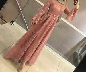 dentelle, fashion, and hijab image
