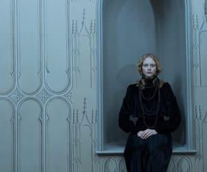 black magic, goth, and hogwarts image