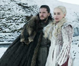 Jon, daenerys targaryen, and dany image