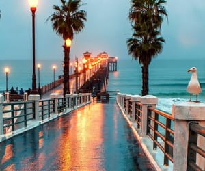 beach, cali, and photography image