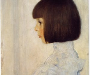art, painting, and Gustav Klimt image