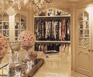 luxury, closet, and wardrobe image