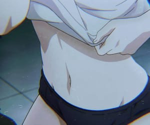 anime, aesthetic, and body image