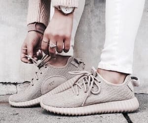 accessories, fashion, and yeezys image