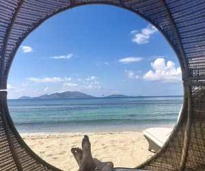 beach, beautiful, and naps image