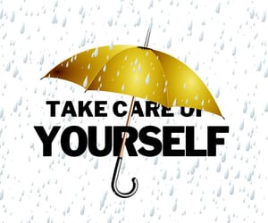 well-being, self improvement, and self-care image