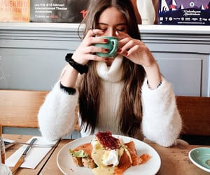 amsterdam, brunch, and coffee image