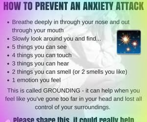 anxiety, breathing, and attack image